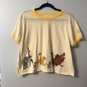 🦁Lion King Disney Crop Top